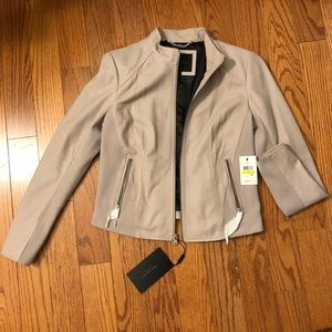 Marc New York Leather Cropped Jacket